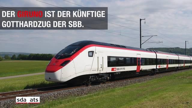 Giruno: Das ist der neue Superzug der SBB