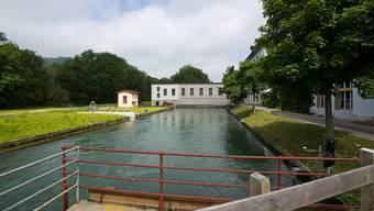 Der Kanal beim Stroppel-Areal, durch den der Asylbewerber schwimmen wollte.