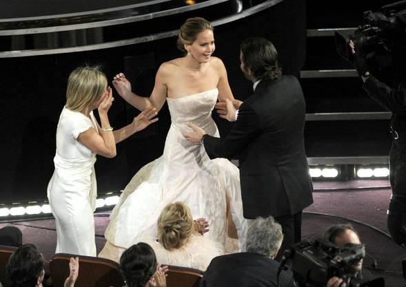 Jennifer Lawrence gewinnt für ihre Rolle in «Silver Linings Playbook»