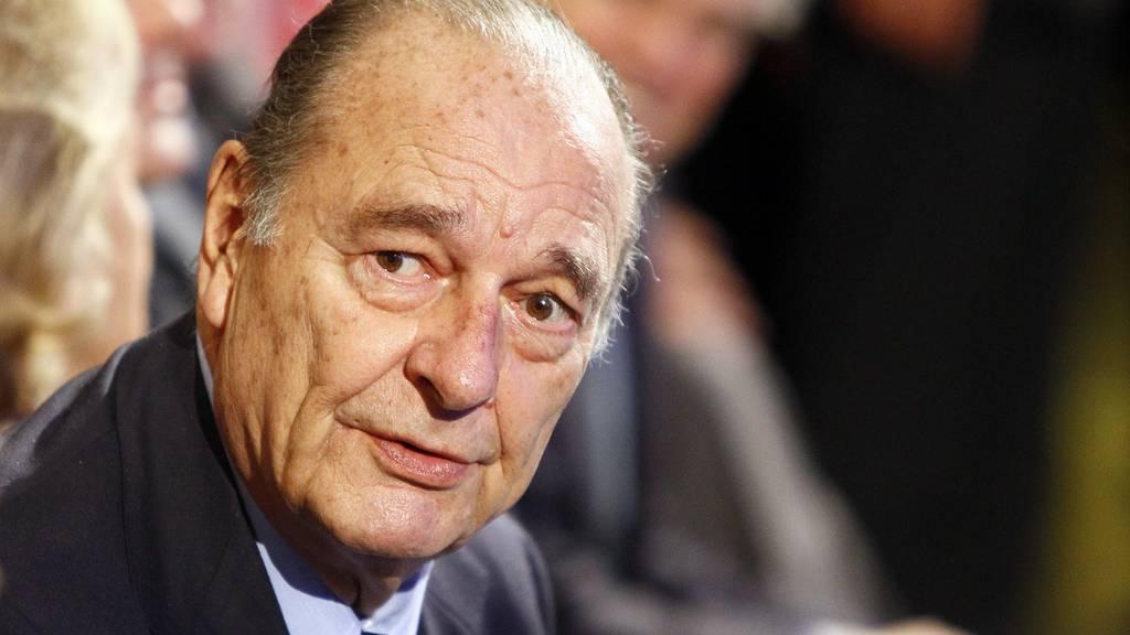Frankreichs Ex-Präsident Jacques Chirac gestorben