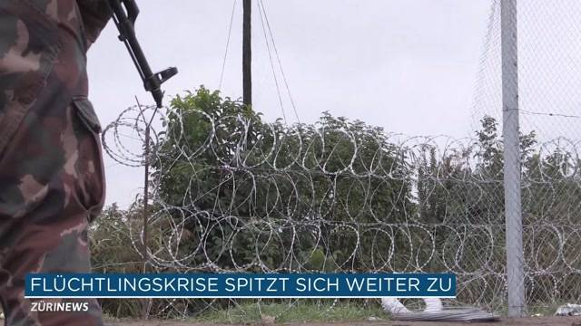 Ungarn riegelt Grenze ab