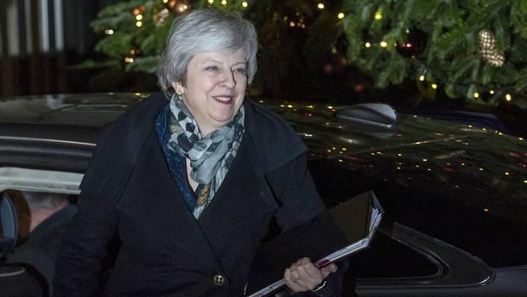 Hat die Misstrauensabstimmung gewonnen: Theresa May. (Archivbild)