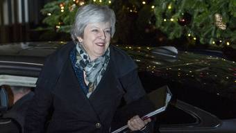 Hat die Misstrauensabstimmung gewonnen: Theresa May. (Archivbild)
