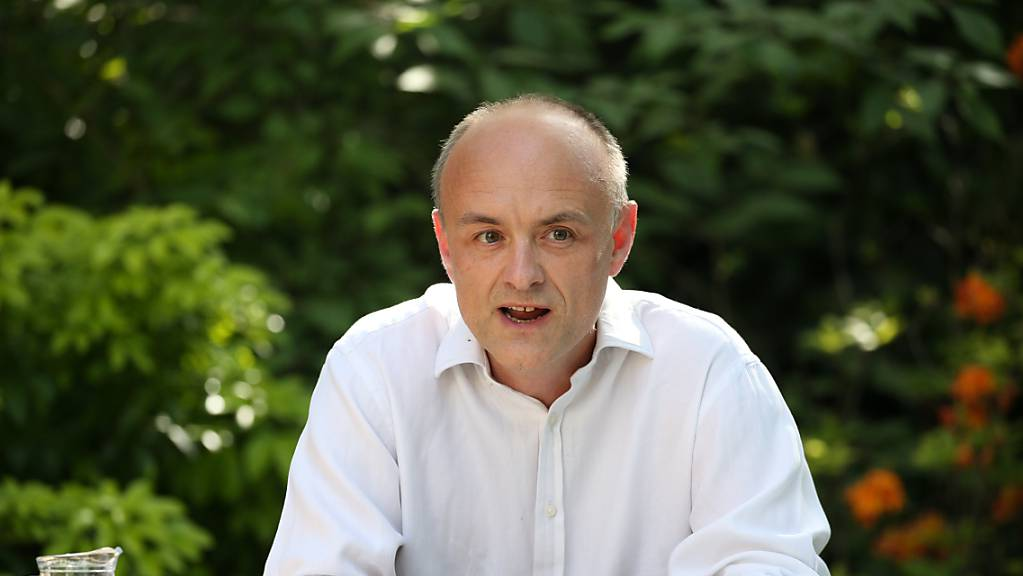 ARCHIV - Der Ex-Berater des britischen Premierministers  Johnson, Dominic Cummings. (Archivbild) Foto: Jonathan Brady/PA Wire/dpa