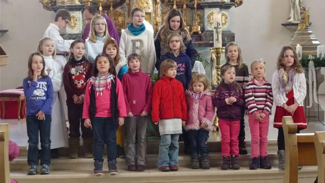 Besinnlicher Gesang in den Kirchen von Wegenstetten und Zuzgen zum ersten Advent. – Foto: pd