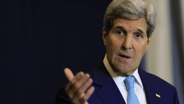 Fordert Gespräche mit Assad: US-Aussenminister John Kerry (Archiv)