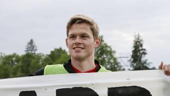 Aarau-Profi Marco Thaler, erneut gebeutelt vom Verletzungspech