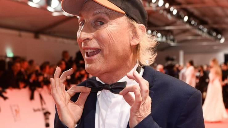 Auch ein Schweizer Preis für Otto Waalkes: Der Komiker 2015 bei der Verleihung des deutschen Medienpreises Bambi. (Archivbild)