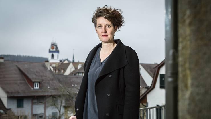 Lelia Hunziker wird am kommenden Montag zur neuen Einwohnerratspraesident gewaehlt. Aufgenommen am 10. Dezember 2015 im Rain 24 in Aarau.