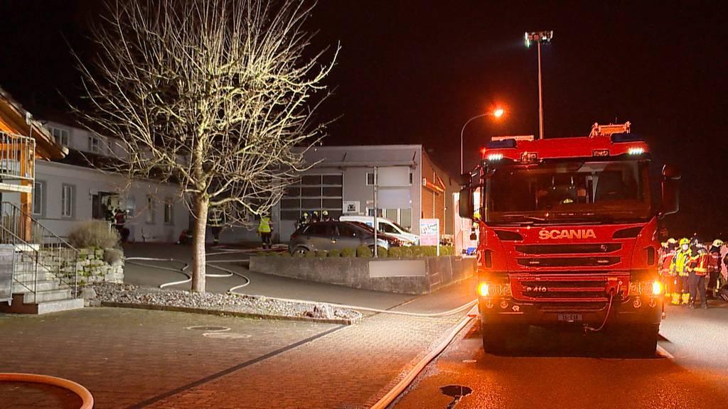 Amriswil (TG): Brand in Wohnhaus fordert hohen Sachschaden