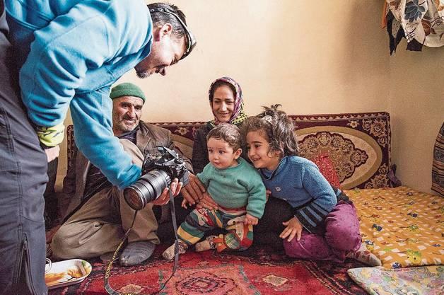 Im Haranaj im Taleghan-Tal eingeladen zu Hause bei unserem Guide Mohammed.