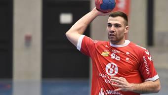 Kann TVE-Neuverpflichtung Milomir Radovanovic sein ansprechendes Debüt gegen den BSV Bern bestätigen.