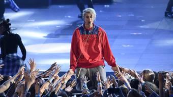 Vorgetäuschte Vaterfreuden: Justin Bieber führt seine Fans am 1. April an der Nase herum. (Archivbild)
