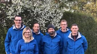 Das Organisationskomitee des Bikerrennens in Lostorf 2019.