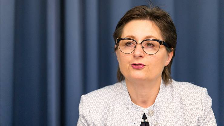 «Es geht nicht darum, dass sich eine Gemeinde heute entscheiden muss, ob sie zukünftig Standortgemeinde für eine Grossunterkunft sein will», sagt Regierungsrätin Franziska Roth.