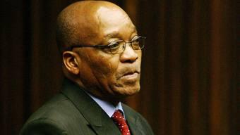 Auch Präsident Jacob Zuma zeigte sich entsetzt (Archiv)