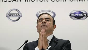 Ex-Nissan-Chef Carlos Ghosn ist vor einem japanischen Gericht mit einer Beschwerde gegen seine Untersuchungshaft gescheitert. (Archiv)