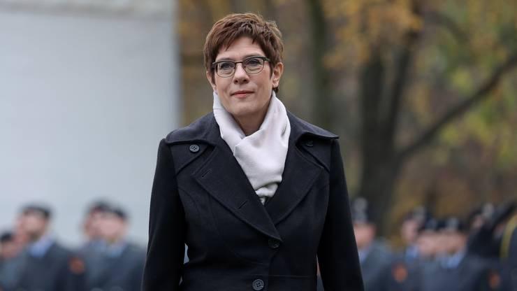 Annegret Kramp-Karrenbauer gilt als inoffizielle Kanzlerkandidatin.