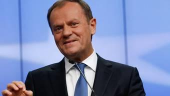 Der Entwurf von EU-Ratspräsident Donald Tusk wird beim EU-Gipfel am 18. und 19. Februar diskutiert. (Archiv)