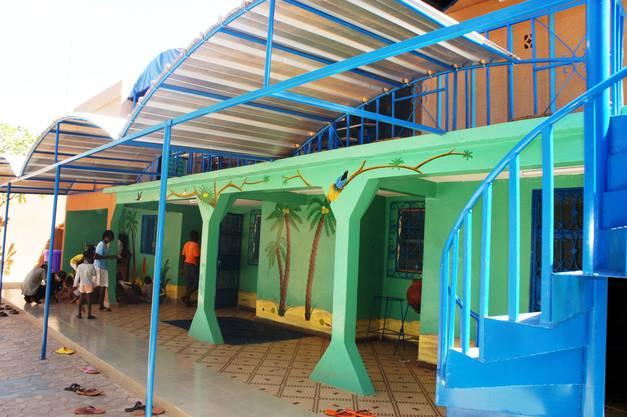 Das Kinderheim für die älteren Kinder von innen.
