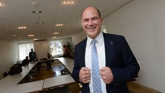 Zinsen zum Nulltarif: Finanzdirektor Anton Lauber überlegt sich, wie er den Gemeinden bei der Ausfinanzierung der Pensionskasse unter die Arme greifen kann.