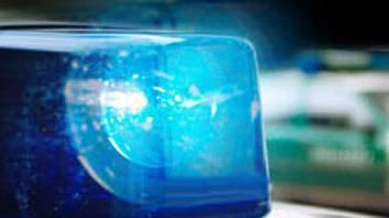 Blaulicht der Polizei (Symbolbild).