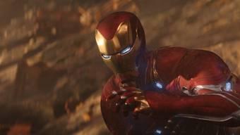 """Robert Downey Jr. als Iron Man in """"Avengers: Infinity War."""" Ein Kostüm wie dieses wurde aus einem Lager geklaut. Es hat einen Wert von über 300'000 Dollar. (Archivbild)"""
