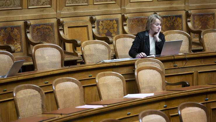Vom Arbeitgeberverband sitzen gelassen: CVP-Nationalrätin Elisabeth Schneider-Schneiter. (Peter Klaunzer)
