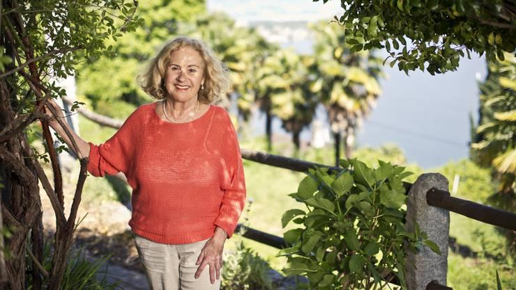 Eveline Hasler (85), lebt seit 25 Jahren im Tessin.
