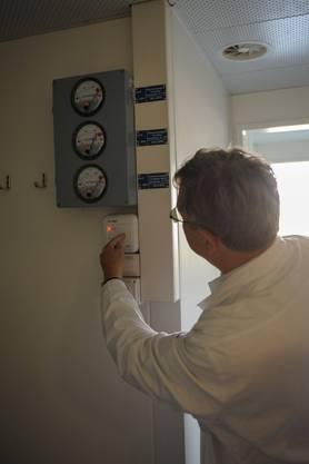 Ein spezielles Lüftungssystem sorgt für den kontrollierten Luftaustausch.