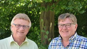 Rolf Maurer (l.) und Fritz Wilk: der scheidende und der neue Abteilungsleiter.