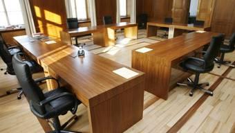 Sitzungen des Aargauer Regierungsrates sind nicht öffentlich. (Archiv)