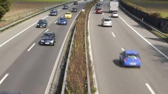 Der Verkehr auf der A1 wurde für einige Zeit blockiert. (ul/Archiv)