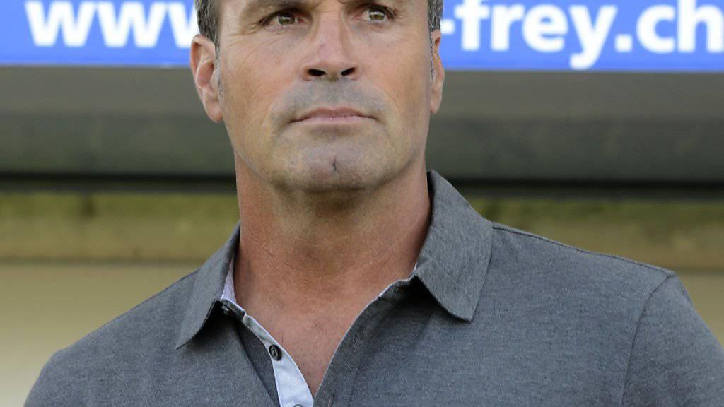 Wils Trainer Martin Rueda konnte sich über drei glückhafte Punkte freuen