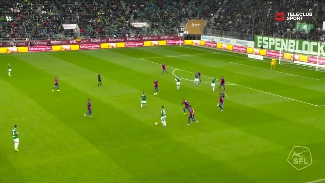 FC St.Gallen - FC Basel - Ermedin Demirovic   , 46. Minute (6.10.19)