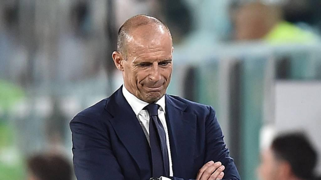 Massimiliano Allegri ist mit Juventus noch nicht auf Touren.