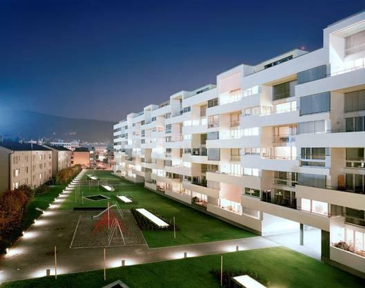 «James» nennt sich die 283 Wohnungen umfassende Überbauung in Altstetten, die mit einem Butler-Service aufwartet.