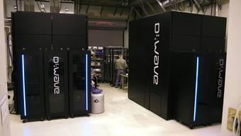 Der Quantencomputer von D-Wave, der aber nicht schneller ist, als herkömmliche Rechner.