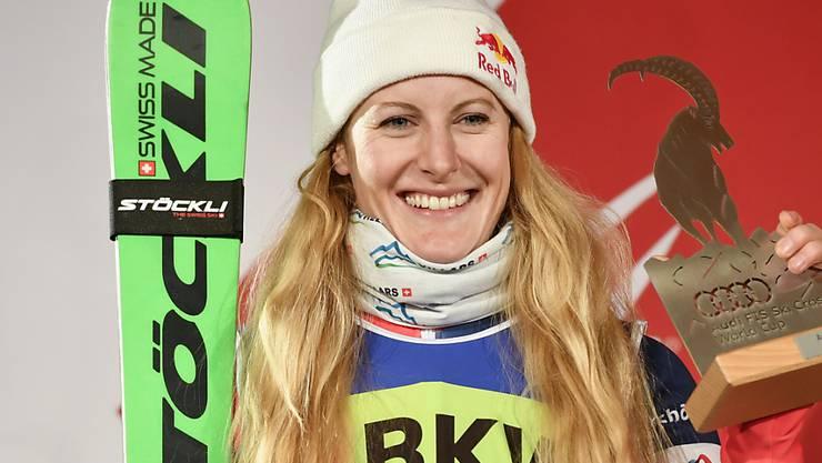 Fanny Smith feierte ihren 21. Weltcupsieg