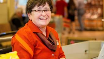 Marta Leutwyler ist seit 11 JahrenMigros-Kassierin.Sandra Ardizzone