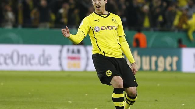 Zwangspause für den Dortmunder Henrich Mchitarjan