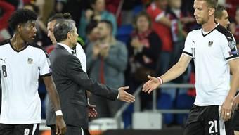 Setzte sich verbal für den nicht mehr erwünschten österreichischen Nationaltrainer Marcel Koller ein: Marc Janko