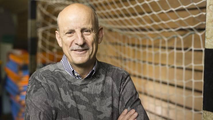 Giorgio Behr, Präsident der Kadetten Schaffhausen, hat Michael Suters Trainertalent früh erkannt.