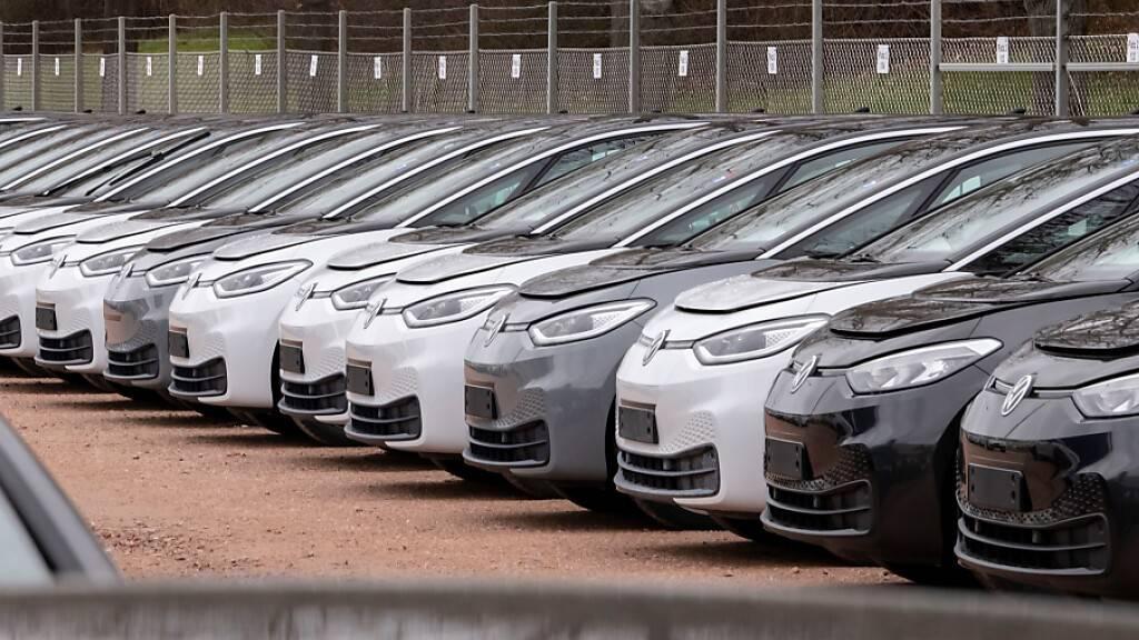 VW-Absatz stottert im Januar (Archivbild)