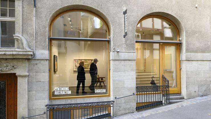Eine Galerie fürs oberste Preissegment: Die Dependance der Top-Galerie Gagosian am Basler Rheinsprung.