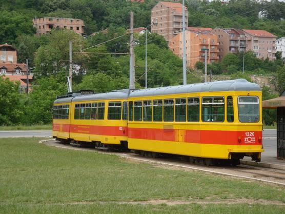 Die Linie 3 fährt in die Vororte der serbischen Hauptstadt.