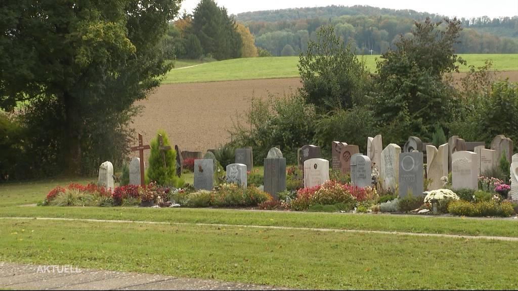 Bestattungsangebot: Ehrendingen bietet spezielle Gräber für Muslime an