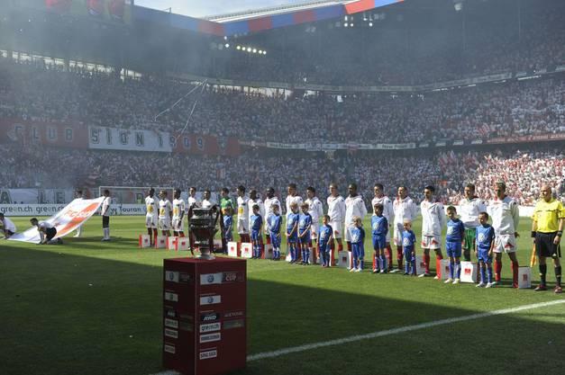 2011 fand der Cupfinal in Basel statt.