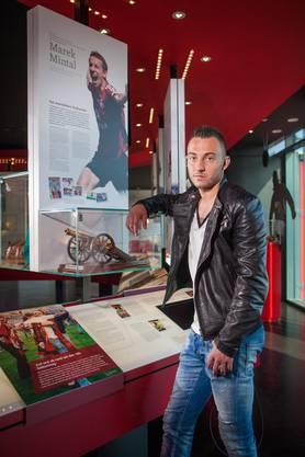 Die Museumsreife hat Josip Drmic noch nicht: Marek Mintal ist bis jetzt der einzige Nürnberger, der die «Torjägerkanone» für den besten Bundesliga-Torschützen erhalten hat.