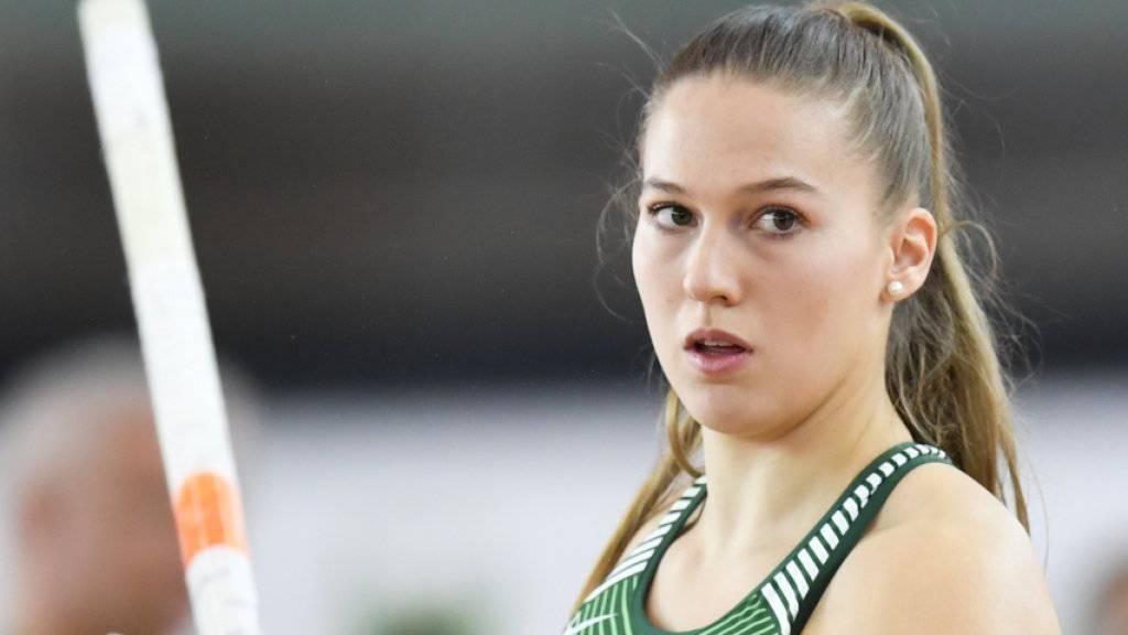 Stabhochspringerin Angelica Moser gewinnt an der U23-EM in Schweden Gold